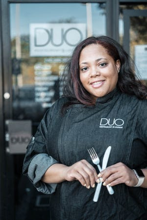 Chef Antoinette Perry of DUO Restaurant and Lounge in Southfield, which is part of Detroit Black Restaurant Week, kicking off April 9.