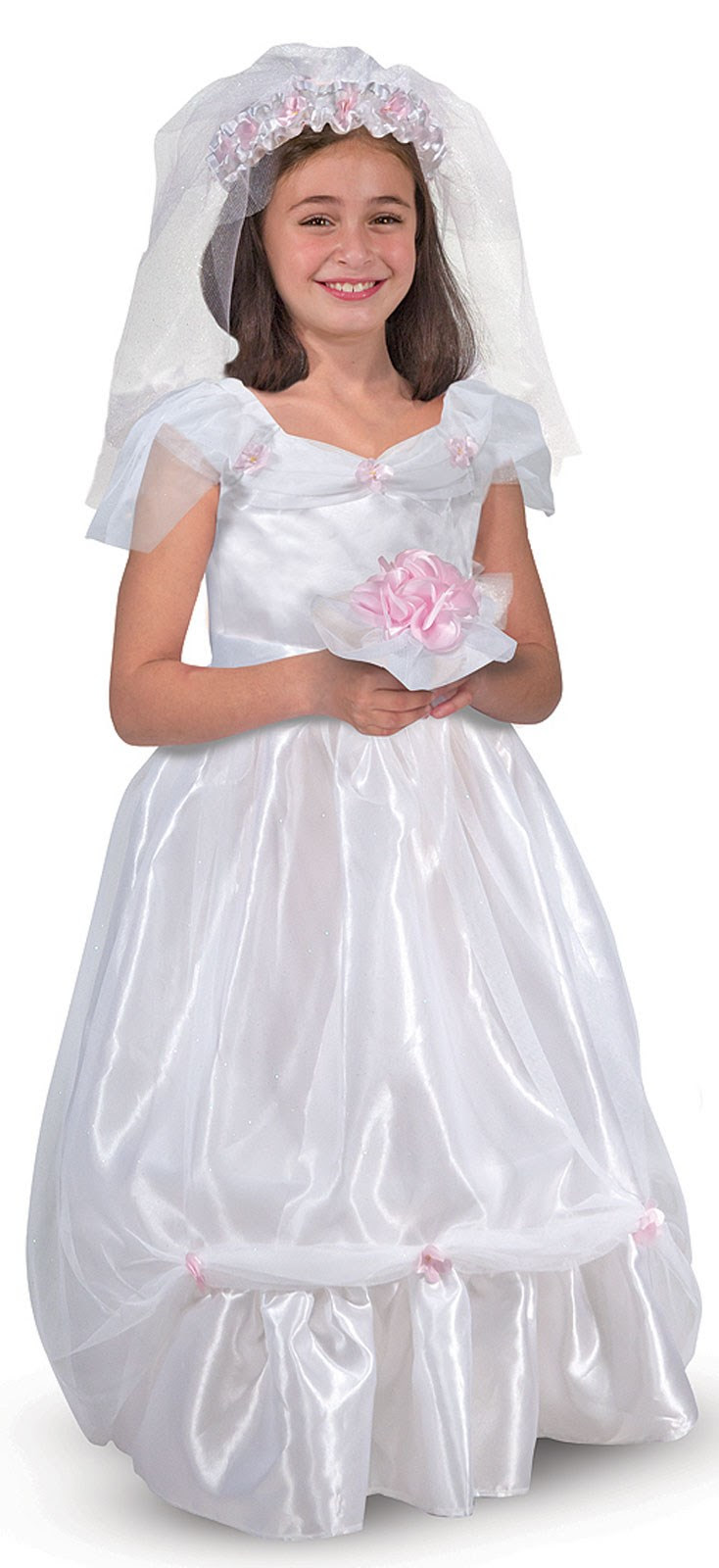 Melissa & Doug Bride Dress-Up Set
