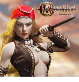 Arhian: Head Huntress Pirate 1/6 Scale Figure