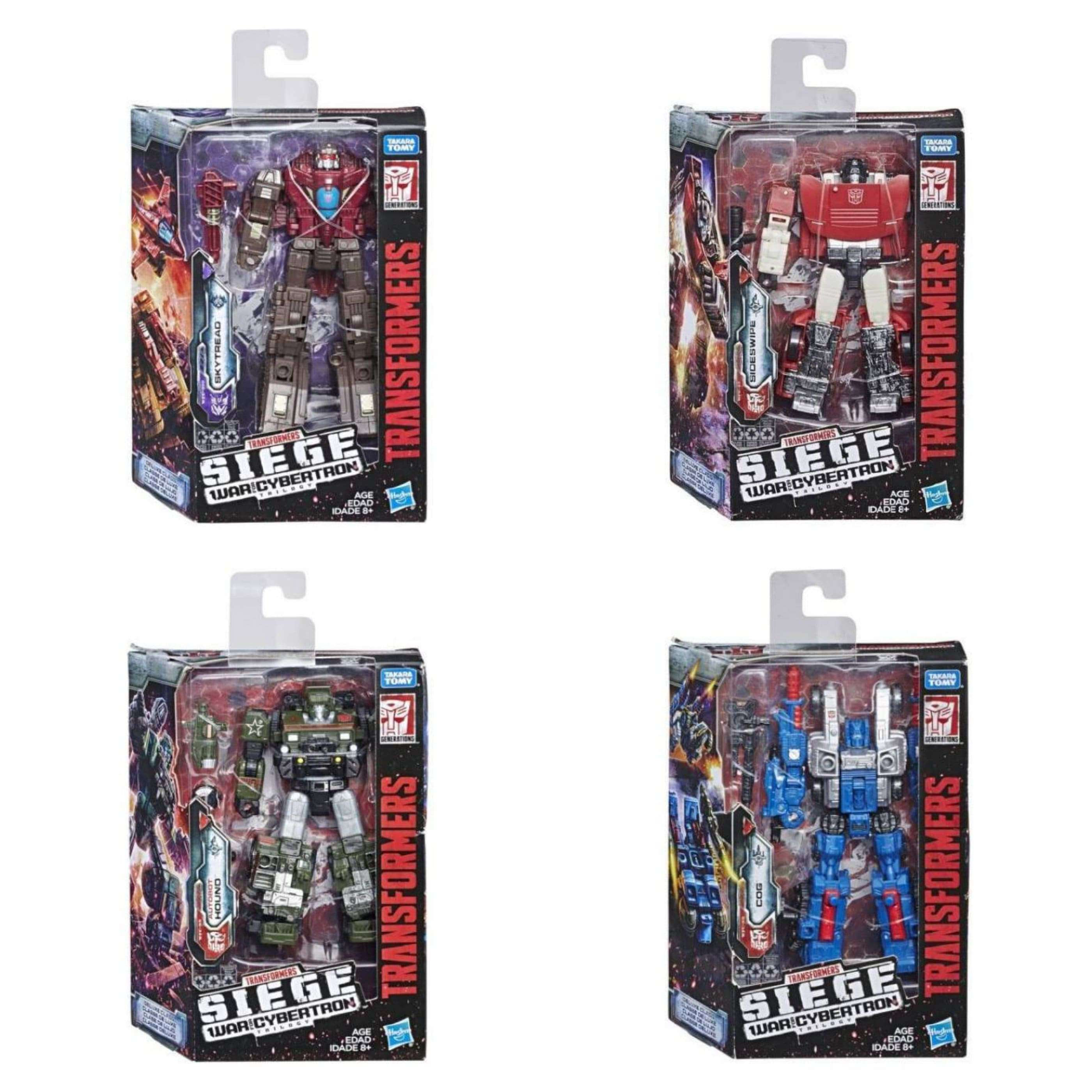Image of Transformers: Generations - War for Cybertron Siege Deluxe Wave 1 - Complete Set of 4