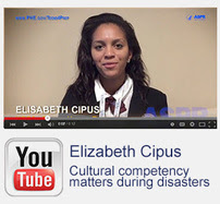 YouTube:  Elizabeth Cipus. Cultural competency matters during disasters