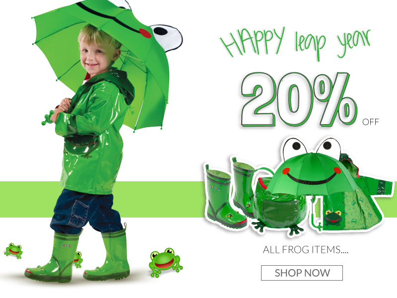 20% off Kidorable entire Frog.