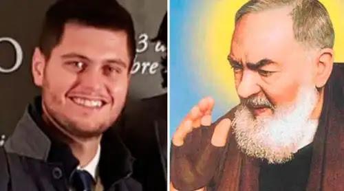 """Joven curado por el Padre Pío: """"Mi curación fue una resurrección como la de Lázaro"""""""