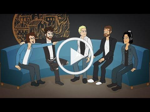 ASKING ALEXANDRIA - Tune Toons (Like A House On Fire)