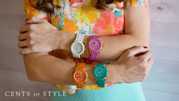 Fashion Friday- 4/24/14- Women`s Watches $14.95 & FREE SHIPPING with Code TIME