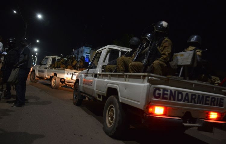 Soldiers launch an operation against suspected jihadists in Burkina Faso. (Ahmed Ouoba/AFP/Getty Images)