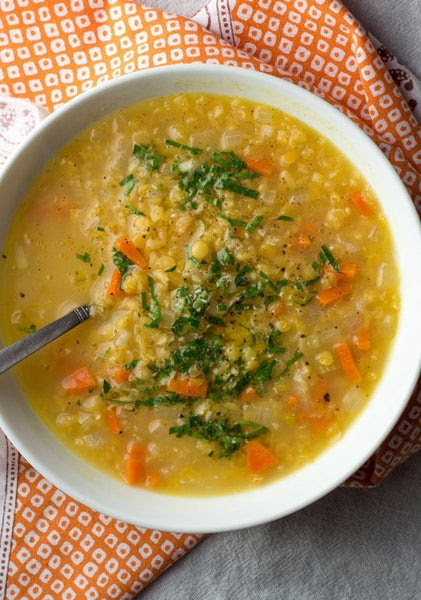 Organic Lentil and Chickpea Soup