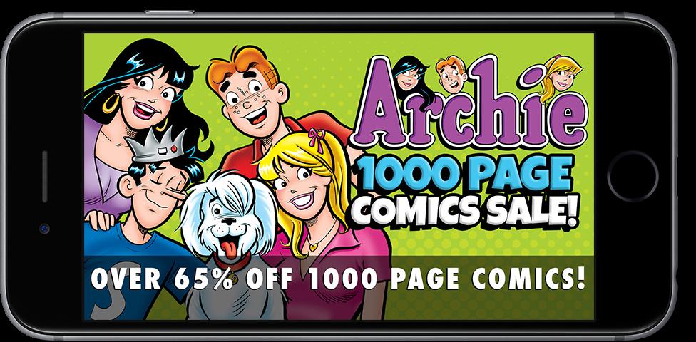 1000 Page Comics Sale!
