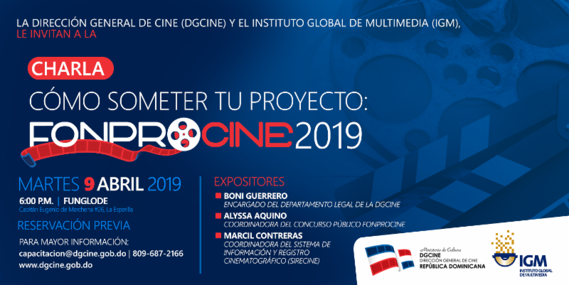 La Dirección General de Cine (DGCINE)