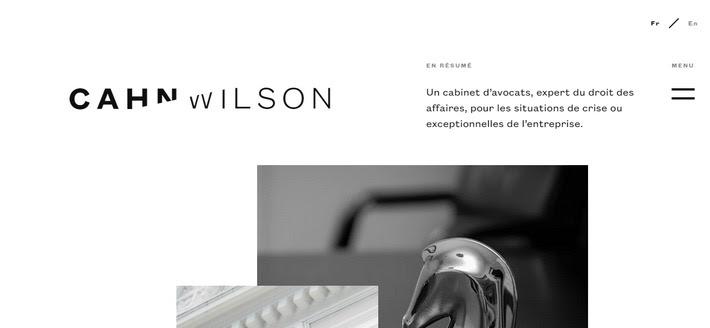 Модное черно-белое оформление: веб-дизайн тренд 2020 года