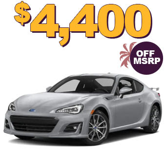 2018 BRZ LIMITED $4400 OFF MSRP