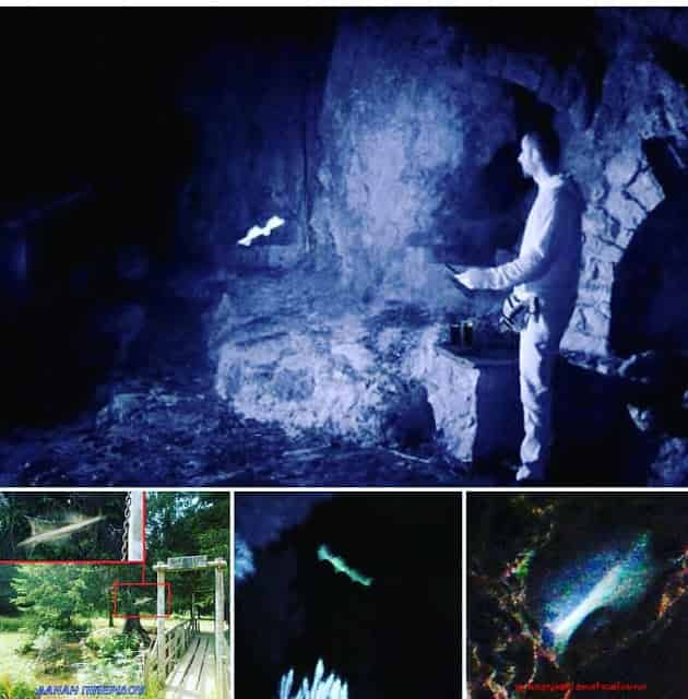 Καταγράφηκαν Απόκοσμες Φωτεινές Οντότητες στο Μενίδι (εικόνες)