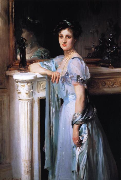 Джон Сингер Сарджент     Миссис Луис Рафаэль, 1906 (471x699, 43Kb)