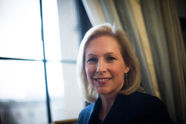 "The number of women serving in office stalled in the 1990s. ""Women are the biggest self-doubters,"" Senator Kirsten Gillibrand of New York said."