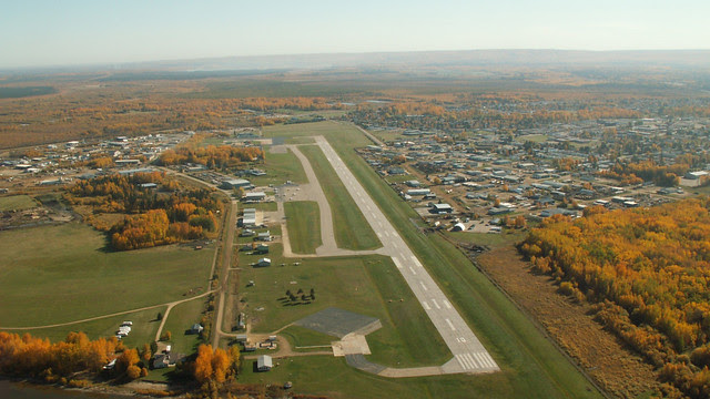 Slave Lake Airport runway