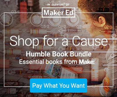 Shop for a Cause - Humble Book Bundle | Essentials from Make:
