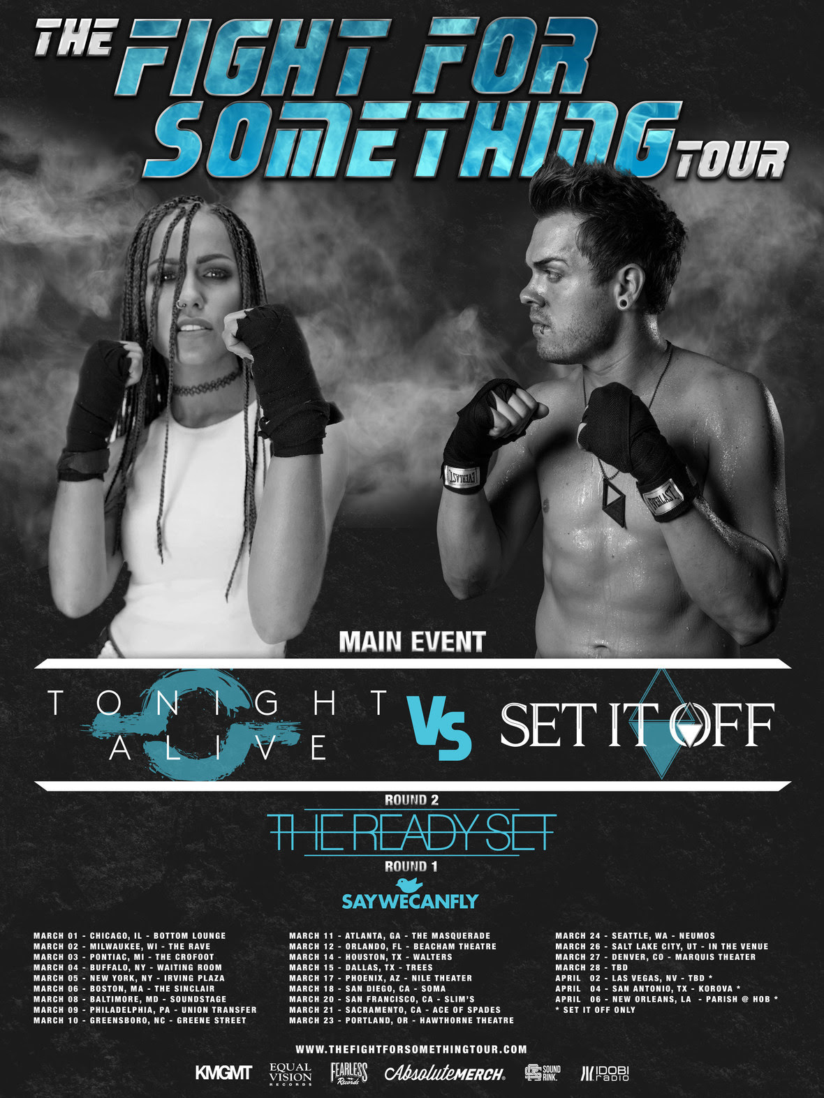 fight for something tour trs