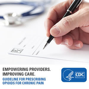 Empowering providers. Improving care. Guideline for Prescribing Opioids for Chronic Pain. HHS CDC