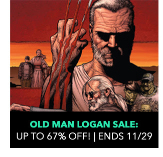 Old Man Logan Sale: up to 67% off! Sale ends 11/29.