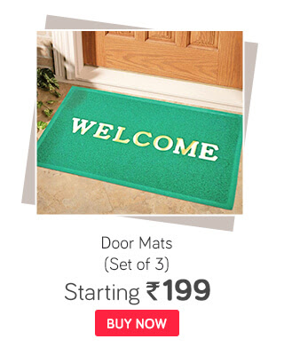 Set of 3 Door Mats