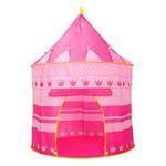 Barraca Infantil Portatil Castelo Princesas Rosa Meninas Grande Bolsa
