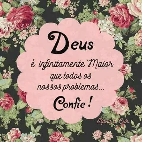 Deus é a solução para todos que nele crê!!: