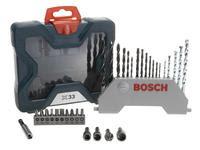 Jogo de Ferramentas Bosch 33 Peças X-Line 33