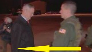 Shock: Photo Of Mattis At Airport Goes Viral When People See What's In His Hand (Video)