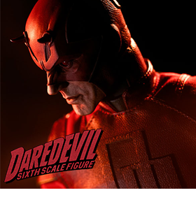 MARVEL 1/6 SCALE DAREDEVIL FIGURE