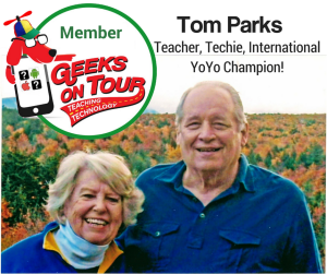 Tom Parks and his wife, Joyce