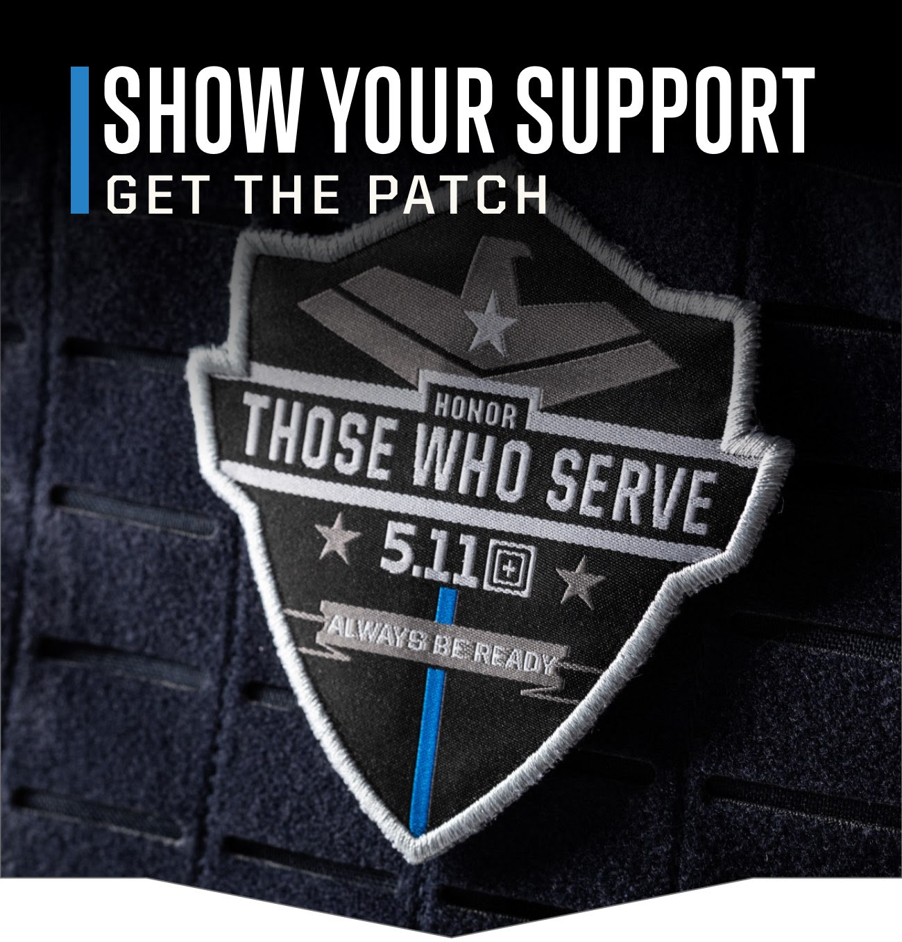 Buy a patch and give back to L...