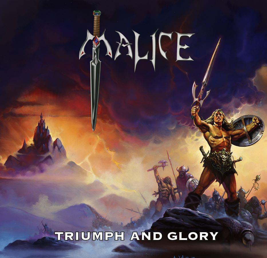 Malice - Triumph and Glory cd cover