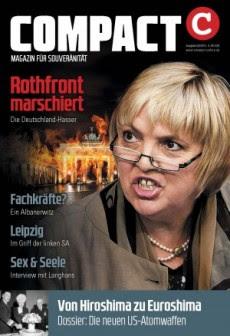 COMPACT 9/2015 beschäftigt sich mit den Antideutschen in allen Parteien