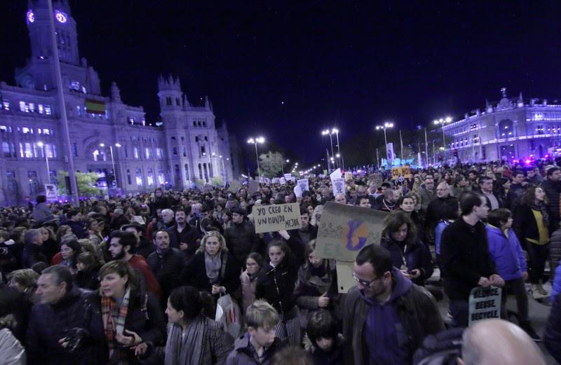 <p>Marcha por el clima en Madrid, el 6 de diciembre de 2019.</p>