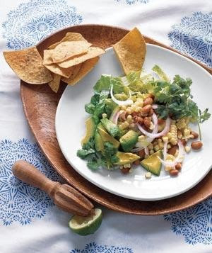 Southwestern Salad with Corn & Avocado