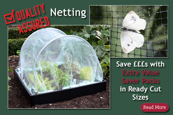 Quality Assured Netting in Ready Cut Saver Packs!