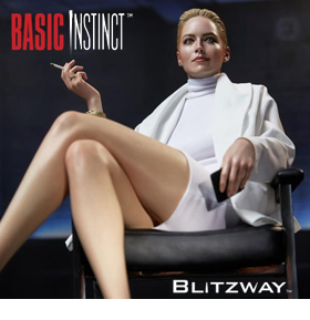 BASIC INSTINCT CATHERINE TRAMELL 1/4 SCALE STATUE