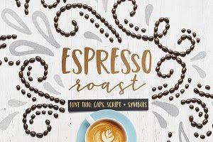 Espresso Roast Font Trio