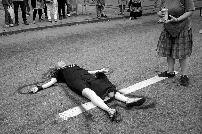 Movilización Alerta Feminista. Foto: Pablo Vignali (archivo, febrero de 2015)