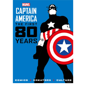 Captain America: The First 80 Years Hardcover Book