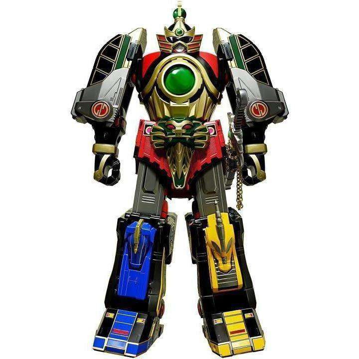Image of Mighty Morphin Power Rangers Legacy Thunder Megazord - FEBRUARY 2019