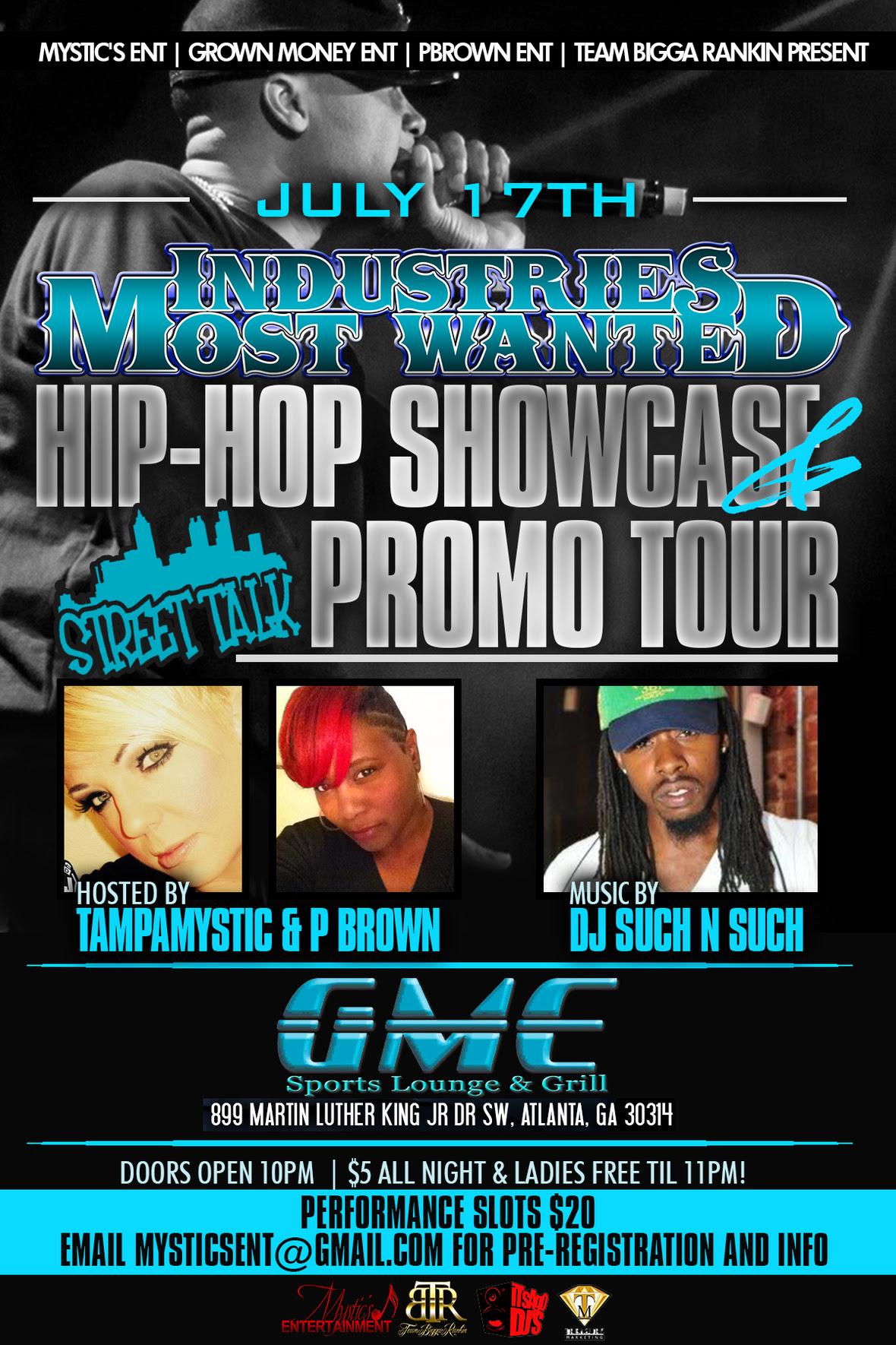 Tampa Mystic - IMW -HIPHOP SHOWCASE 7-17