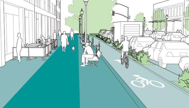 Vias dedicadas para bicicleta são fundamentais na avenida central de Aveiro