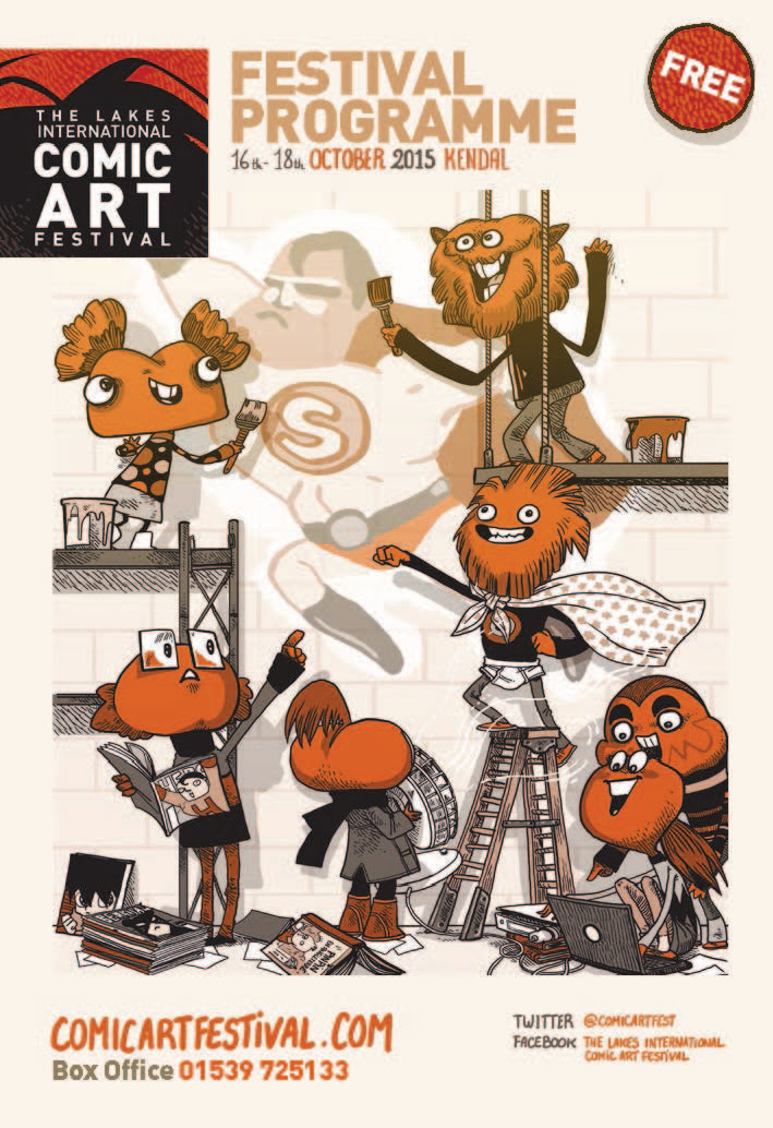 Lakes International Comic Art Festival Programme 2015