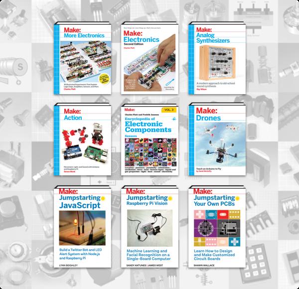 Humble Book Bundle: Make: Electronics 2018