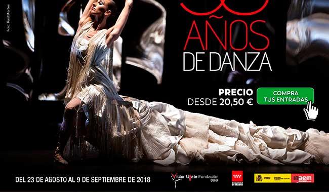 30 años de danza. Precio desde 20,50€ . Compra tus entradas