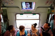 News of Edward Snowden, a contractor for the United States National Security Agency who leaked top secret information, was broadcast on a Hong Kong train on June 14, 2013. Mr. Snowden was hiding in Hong Kong at the time before turning up in Moscow a little over a week later.
