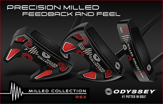 Odyssey launches limited edition Milled Collection RSX putters