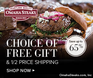 Omaha Steaks: Save up to 65% +...