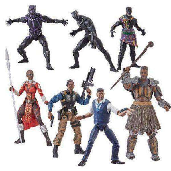Image of Black Panther Marvel Legends Wave 2 (M'Baku BAF) - Case of 8 - FEBRUARY 2019